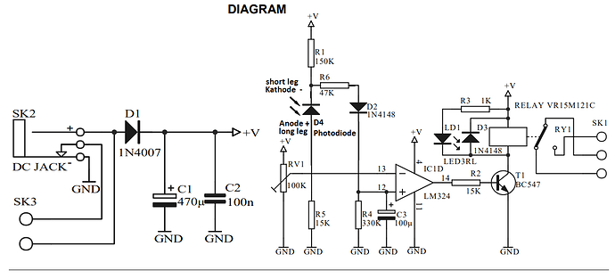MK125_Photodiode addendum