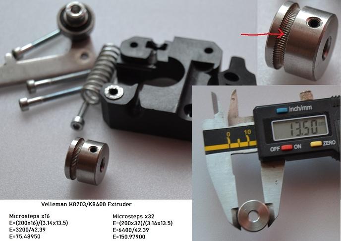 Extruder K8203_K8400