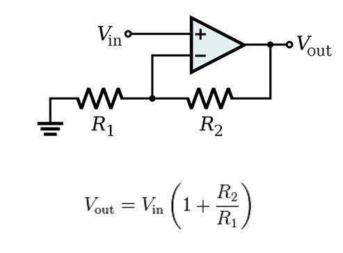 non inverting amp