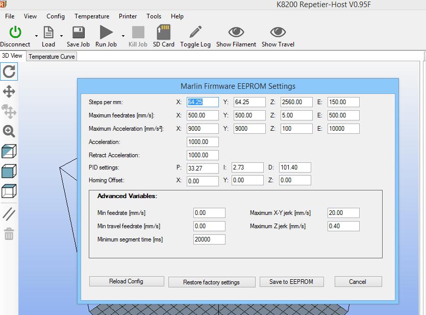 Marlin Extruder Steps Per Mm